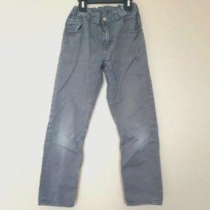 H&M Boys Size 8-9 Grey Jeans